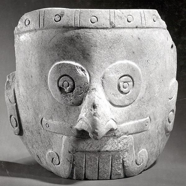 Rain God Mask