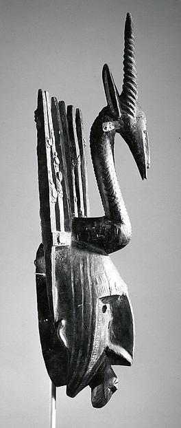 Mask: Antelope Figure (Ntomo)