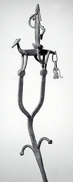 Staff: Equestrian Figure