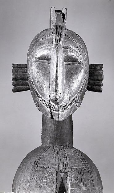 Headdress: Female Bust (D'mba)