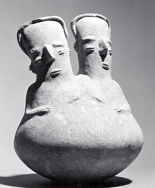 Bottle with Two Heads