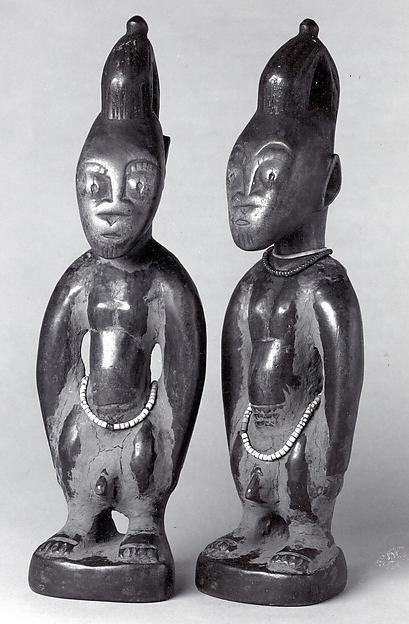 Twin Figure: Male (Ibeji)
