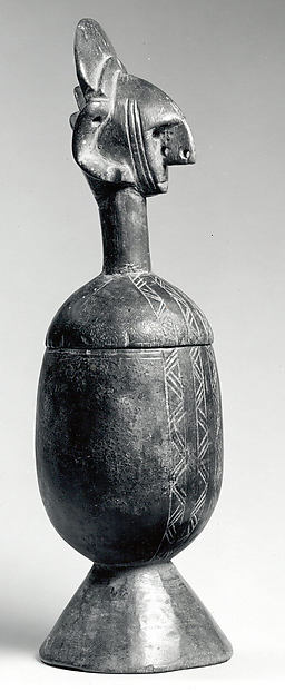Vessel: Figurative Lid