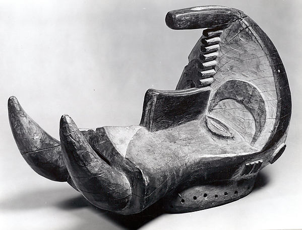 Headdress: Spirit Elephant (Ogbodo Enyi)