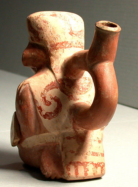 Stirrup Spout Bottle with Warrior