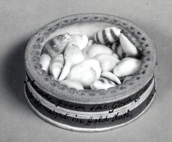 Box of Cowrie Shells