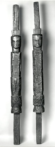 Pair of House Posts