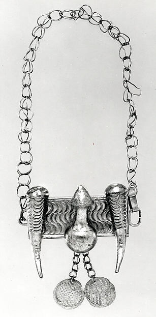 Arm Bands: Calabash and Horn Motif with Pendants