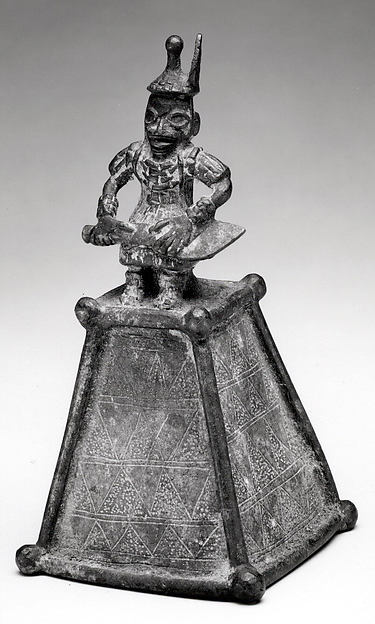 Altar Bell: Figure with Sword