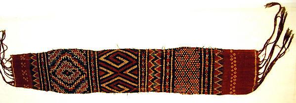 Head Wrapper or Loincloth (Pewo or Mbesa Tali To Batu)