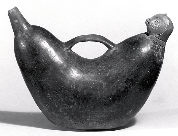 Bird-Head Vessel