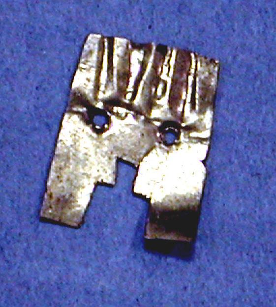 Hammered Gold Ornament Fragment