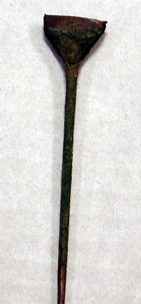 Hammered Copper Rattle