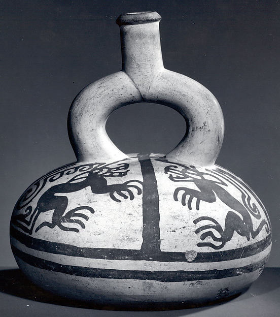 Stirrup Spout Bottle with Pumas