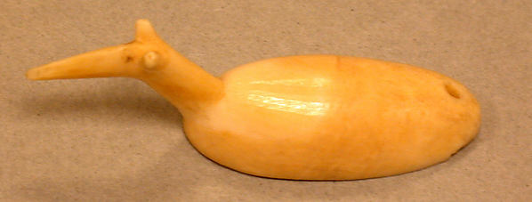 Walrus Ivory Animal with Long Snout