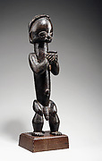 Figure from a Reliquary Ensemble: Seated Male Holding Vessel