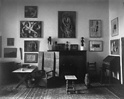 Interior of Arensberg apartment, 33 West Sixty-Seventh Street, New York