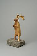Antler Horn Caribou Figure