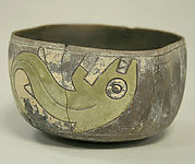 Painted Bowl with Whale