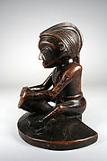 Figure: Seated Drummer (Mbundi-Ngoma)