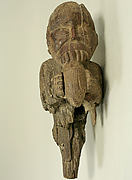 Wooden Monkey Figure