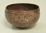 Stone Bowl with Inlays