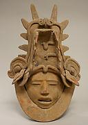 Ceramic Head with Elaborate Headdress