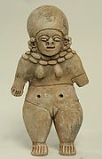 Standing Ceramic Female Figure
