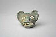 Feline Head Ornament