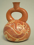 Stirrup Spout Bottle with Felines