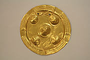 Hammered Gold Disk