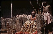Fon Ndi (r. 192654) and attendant at ntul, Laikoms landmark identified with its founding