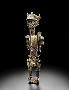 Figure of a leopard chief: Chibwabwa Ilunga