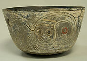 Incised Bowl with Figures