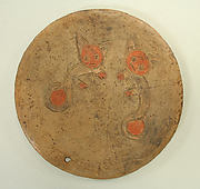 Dish Incised with Two Cats