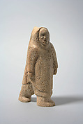 Whalebone Figure in Parka