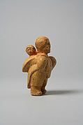 Whalebone Mother and Child Figure