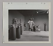 Installation View of the 1963 Exhibition <em>Senufo Sculpture from West Africa</em>