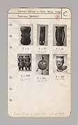 Catalog and Desiderada, Collection of Negro Art / Nelson A. Rockefeller