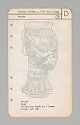 Catalog and Desiderata, Collection of African Negro Art, Nelson Rockefeller