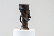 Head-shaped cup (mbwoong ntey)