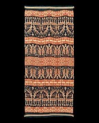 Man's shoulder or hip cloth (Hinggi)