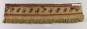 Tapestry Fragment with Fringe