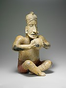 Seated Ballplayer