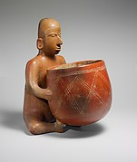 Seated Figure with Vessel