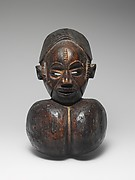 Mask: Female with Goiter