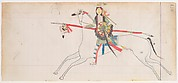 Horse and Rider (Henderson Ledger Artist A)