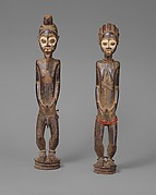 Pair of Diviner&#39;s Figures