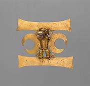 Masked Figure Pendant