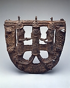 U-Shaped Plaque: Mudfish-Legged King and Supporters